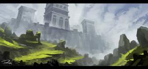 Paint 9/21/13 - Castle Structure