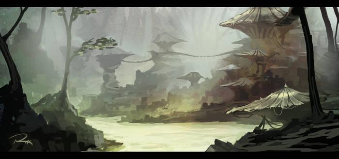 Paint 9/22/13 - Swamp Concept W/ VIDEO!!!