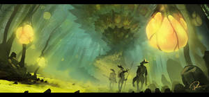 Swamp Re-paint TIME LAPSE