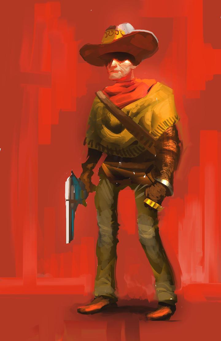 Cowboy by JRettberg