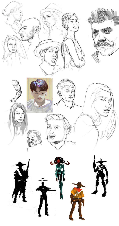 Sketch dump by JRettberg