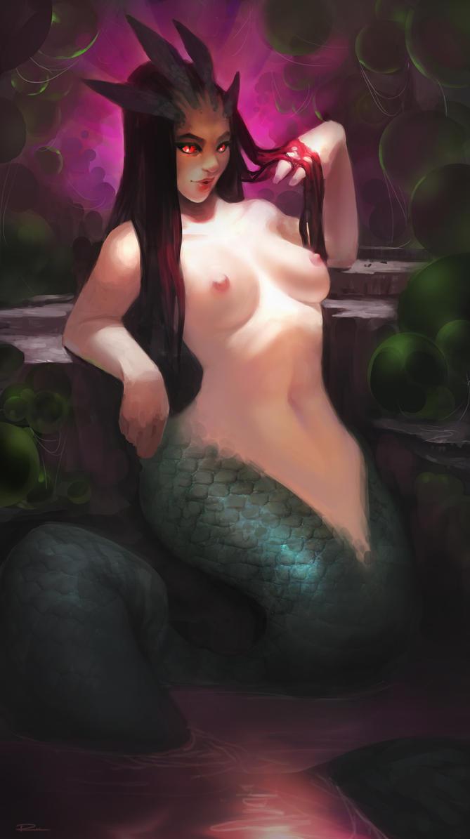 Mermaid Broodmother by JRettberg