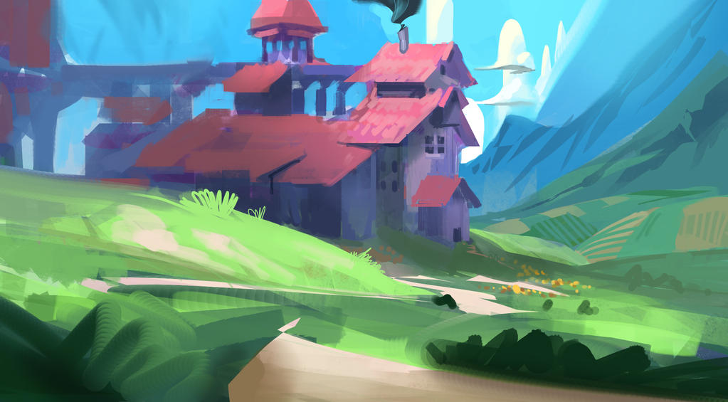 Farmhouse by JRettberg