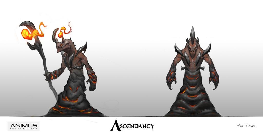 Ascendancy - Fire Mage by JRettberg