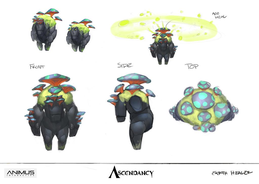 Ascendancy - Earth Healer by JRettberg