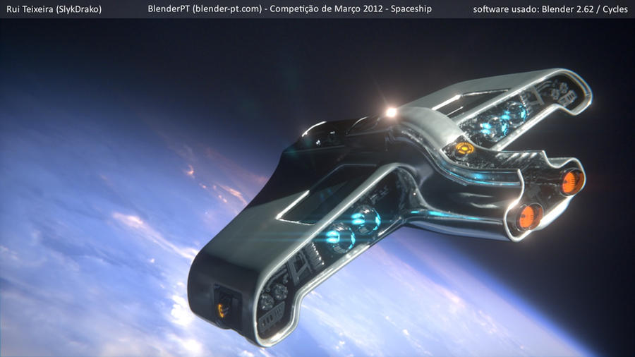 Spaceship by SlykDrako