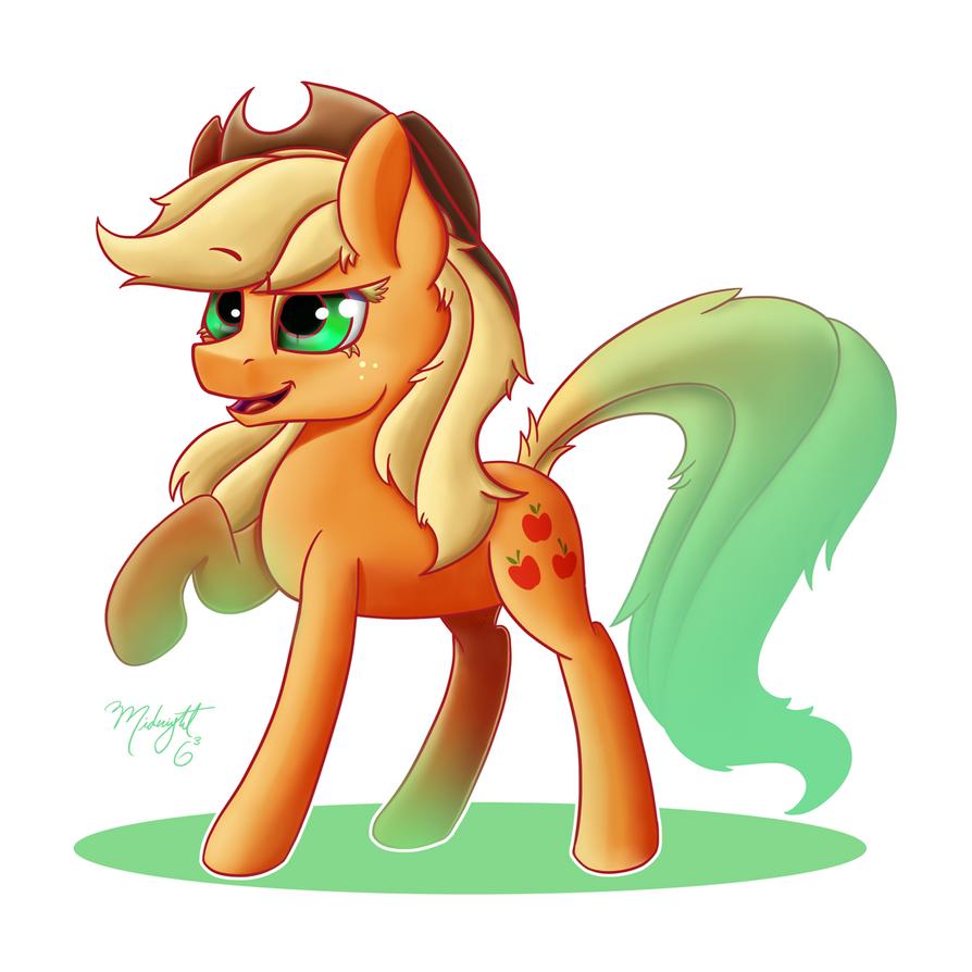 Applejack! by Midnight6-6-6