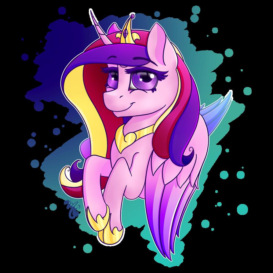 Princess Cadance by Midnight6-6-6