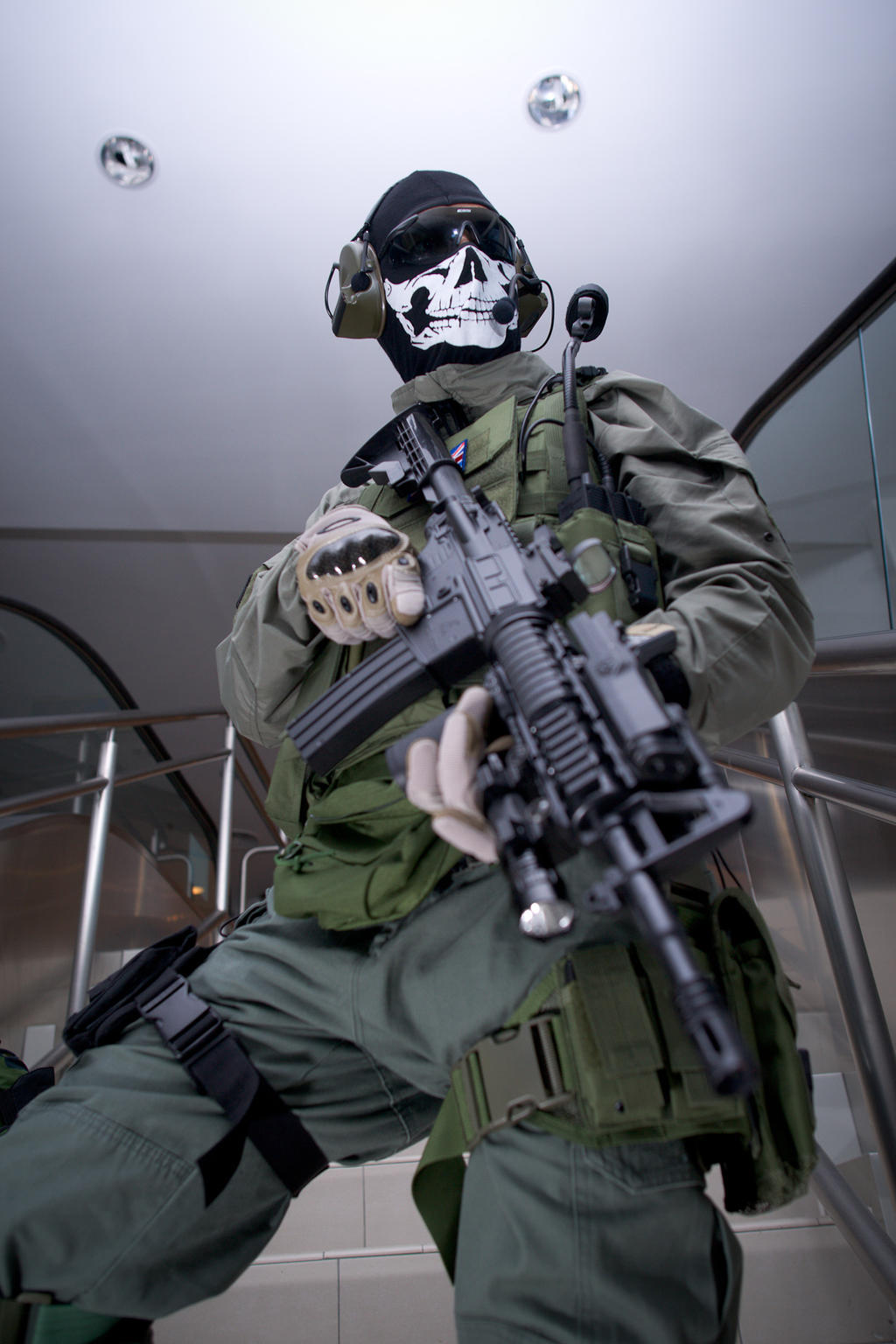 Ghost and Soap cosplay by IrishWastrel on DeviantArt