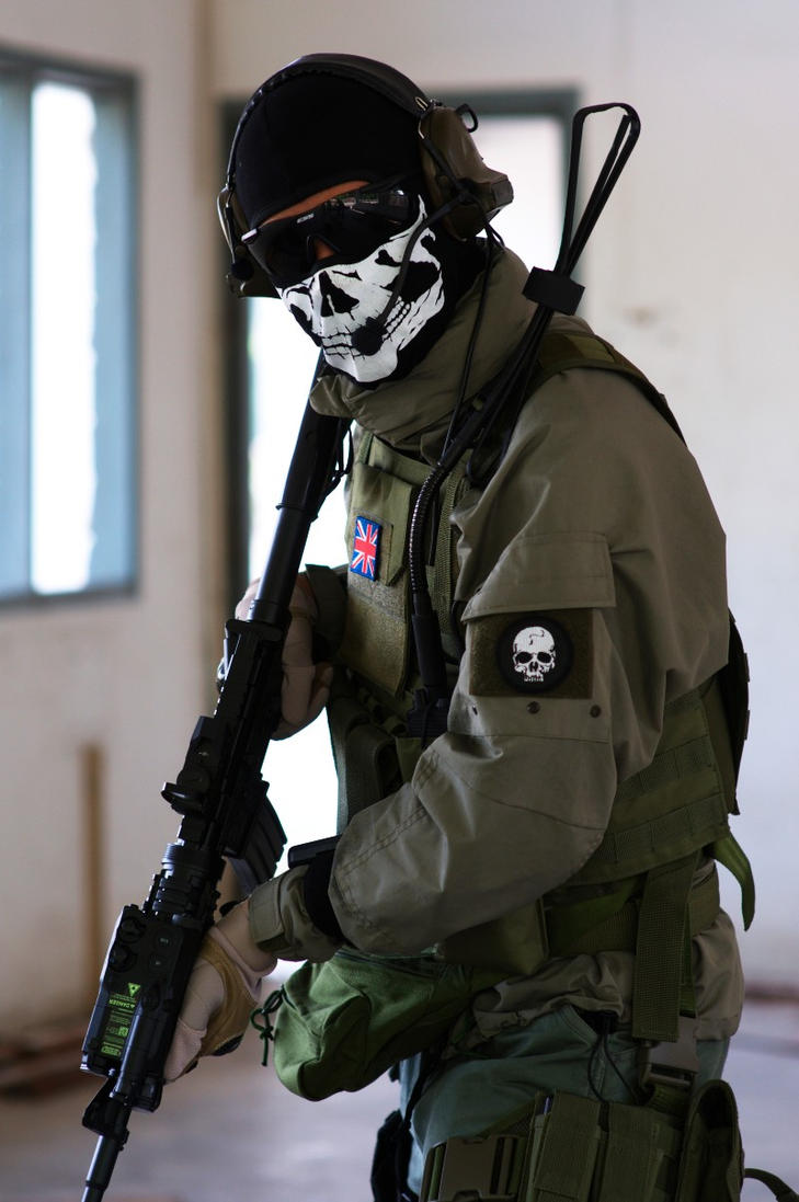 Call Of Duty Ghost Cosplay - klejonka