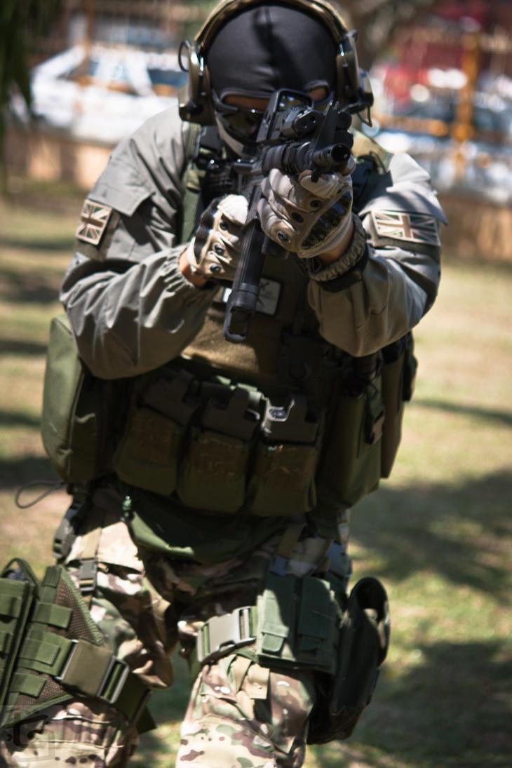 COD Modern Warfare 2 Ghost - RAGE 2012 by Hangmen13 on DeviantArt