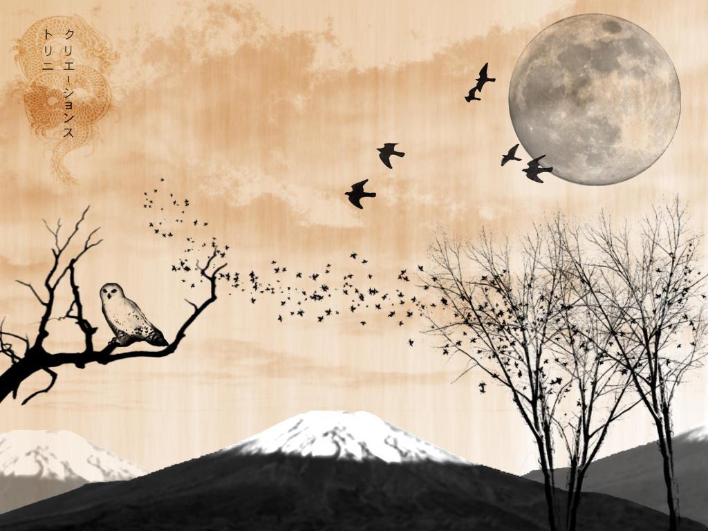 Japanese Painting by trinifellah on DeviantArt