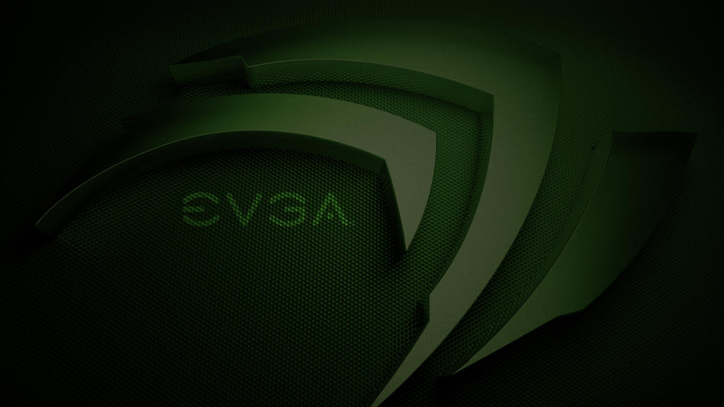 EVGA nVidia Green HD Wallpaper - nVidia Wallpaper 1920 x 1080