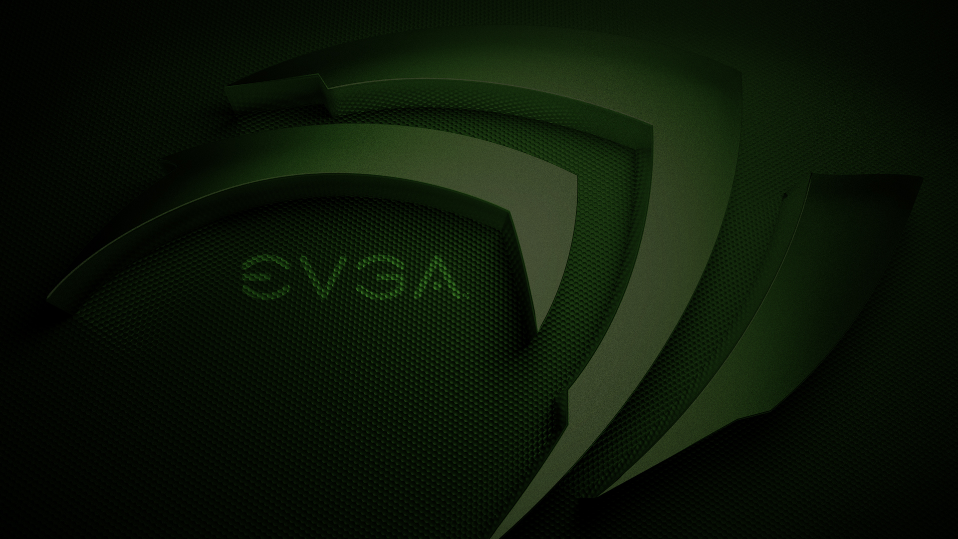 HD EVGA nVidia Green 1920x WallpaperEvga Wallpaper 1080p