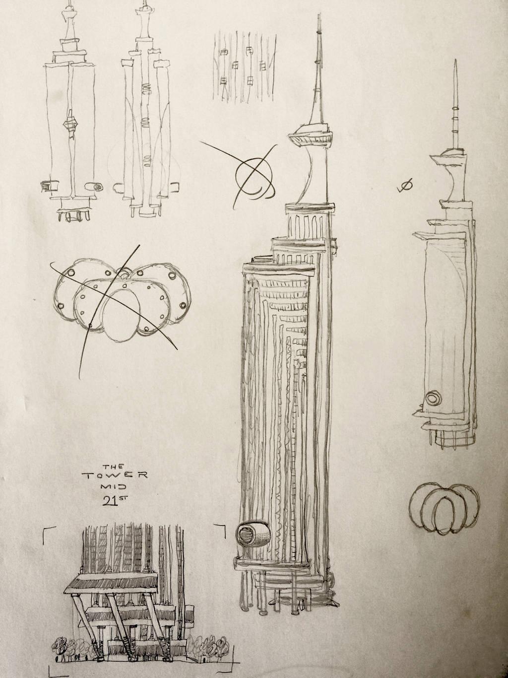 tower mid 21 pt 1 by C-Y-Y-A