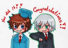 Graduation Congrats by Skialdi