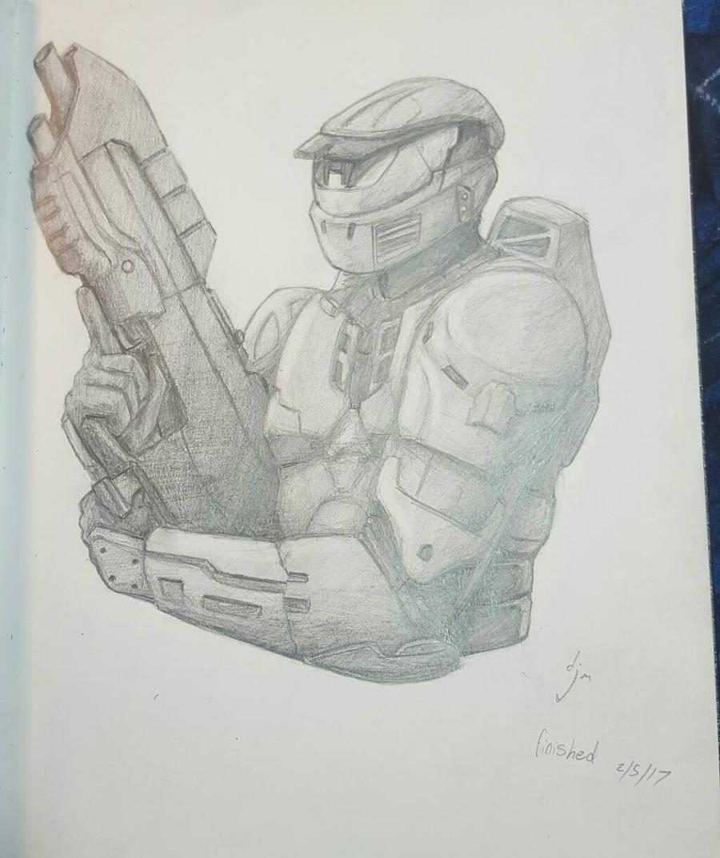 Halo wars 2 spartan by djm106