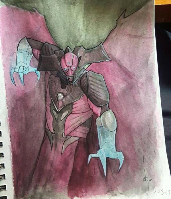 Oryx Watercolor by djm106