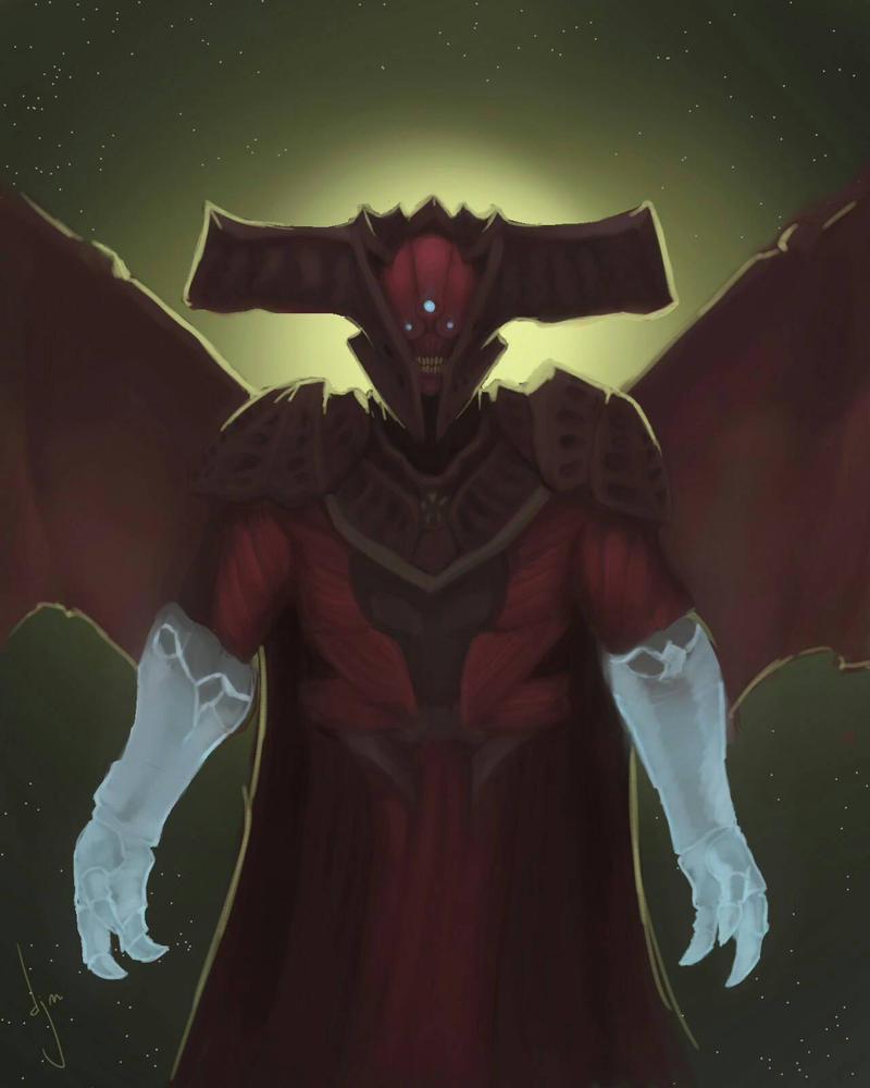 Oryx the Taken King (destiny) by djm106