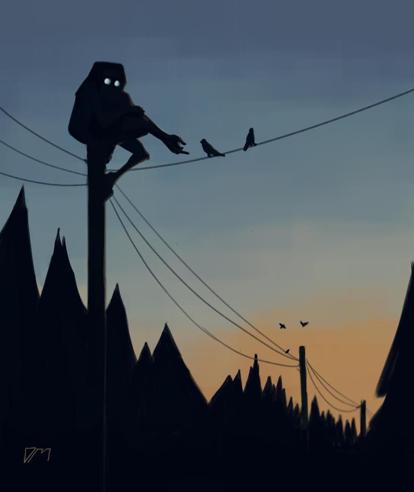 Telephone Poles by djm106