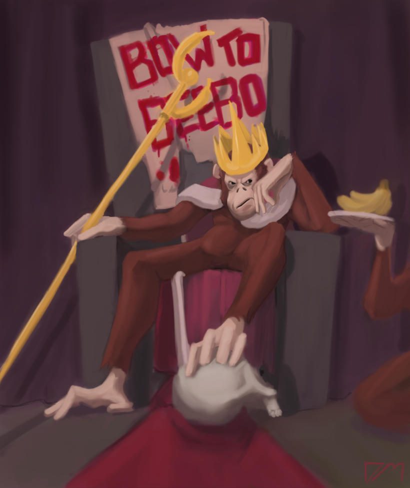 King Prince Crackerjack Beebo II by djm106