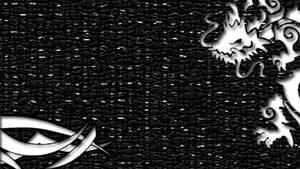 Tribal Dragon PSP Wallpaper