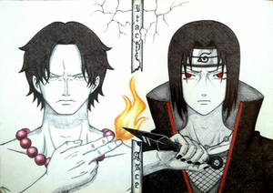 Ace and Itachi
