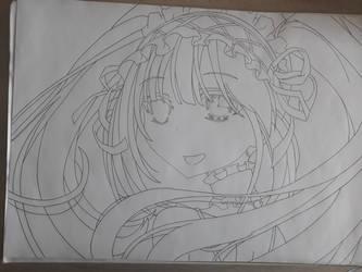 Kurumi Tokisaki - Date A Live (unfinished) by Rena983