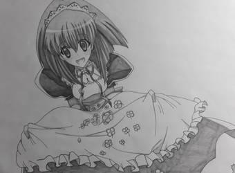 Karin Maaka (Chibi Vampire) by Rena983