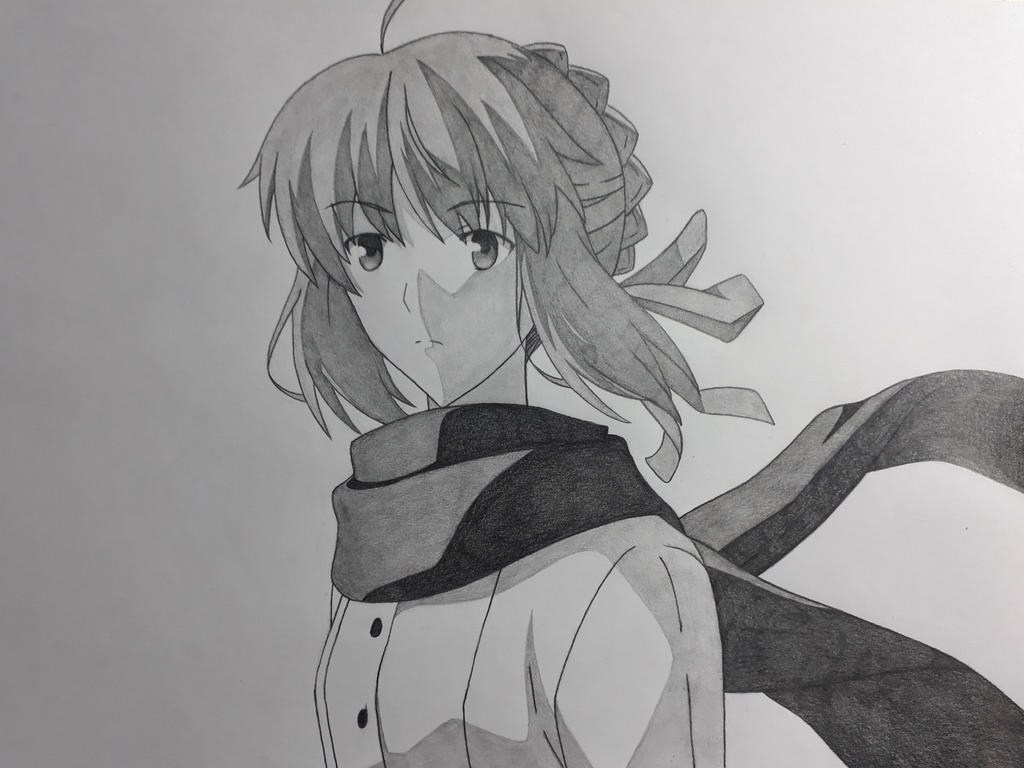 Saber - Fate/Stay Night UBW 2014 (screenshot) by Rena983