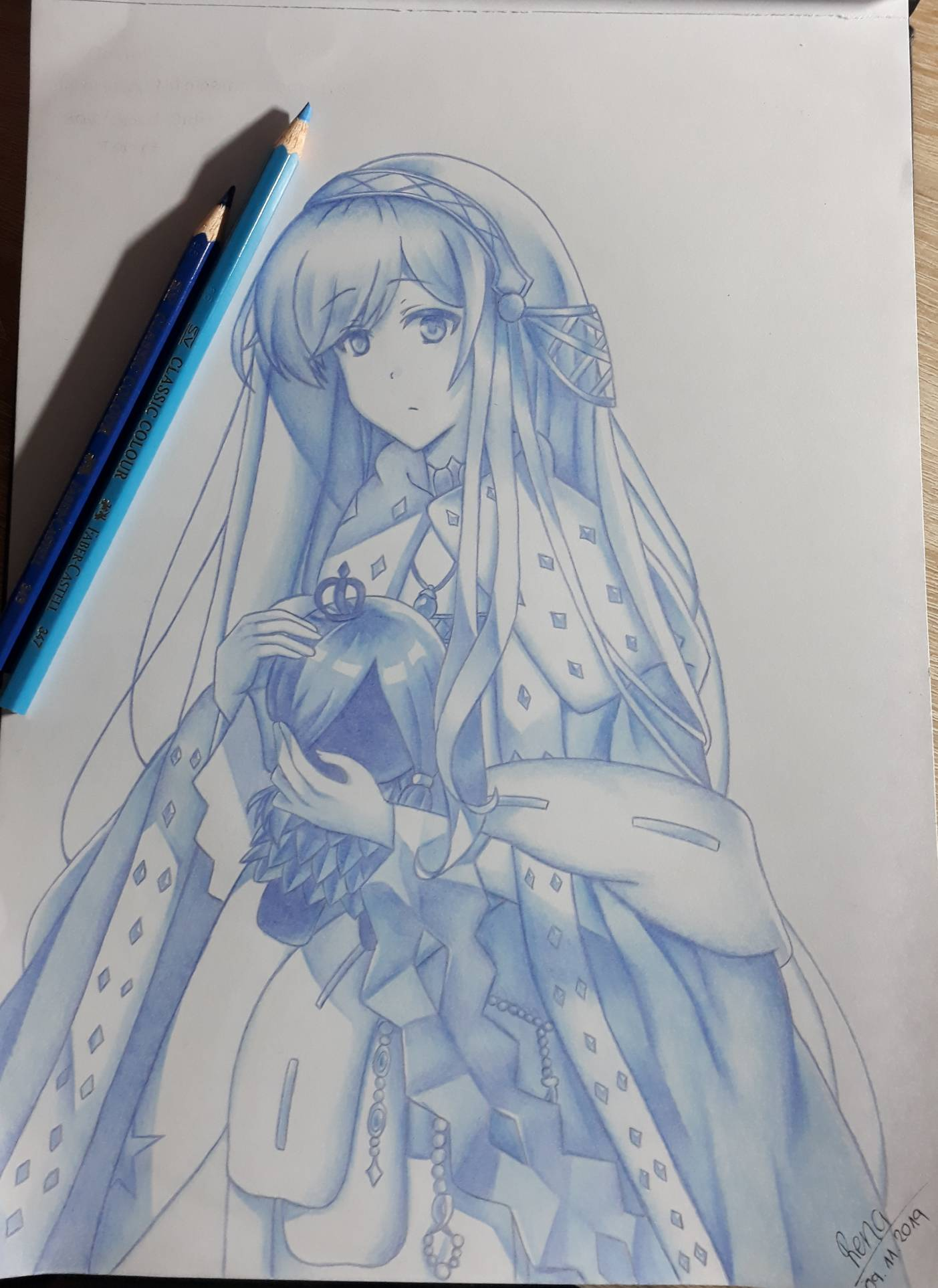Caster Anastasia Fate Grand Order Fanart By Rena983 On Deviantart I'll make research about the copyright music next time if i upload something. caster anastasia fate grand order