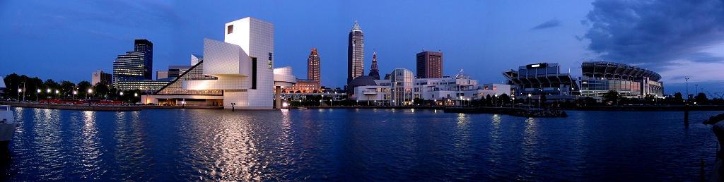 Cleveland Panorama by fusionpanda