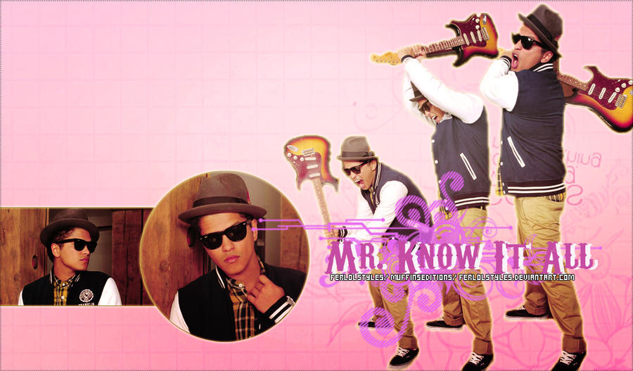 Wallpaper Bruno Mars By Mylifeisabook On DeviantArt