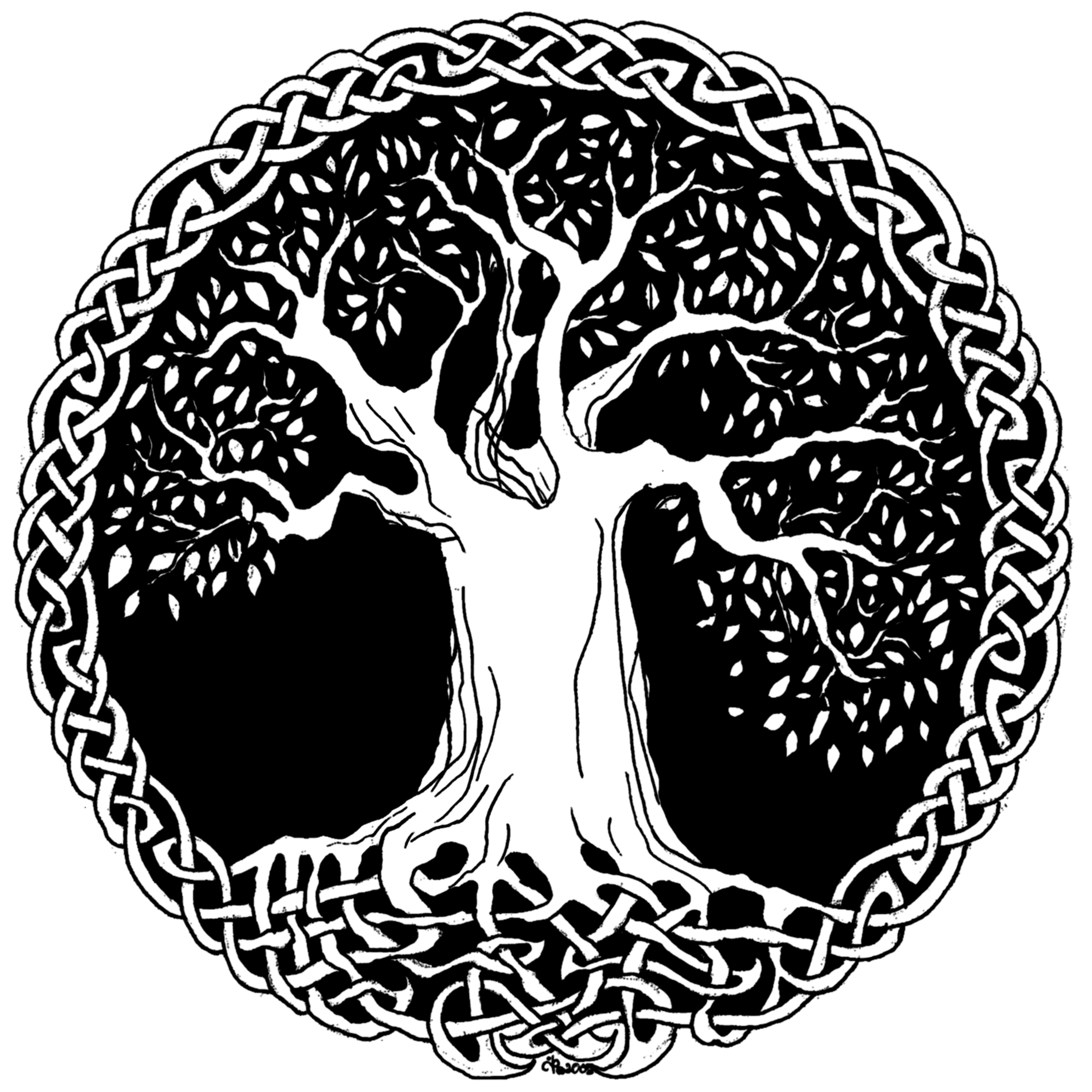 Celtic Wisdom Tree