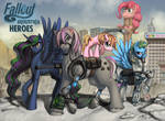 Fallout Equestria: Heroes by Pinkuh