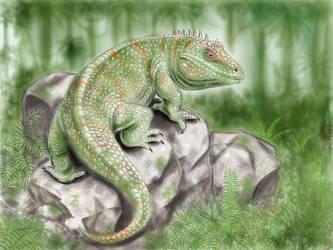 Lizard? by Jappelisko