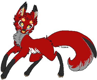 Malk Fox Pixel by TerraDoka