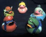 Mario Galaxy Ducks Commission