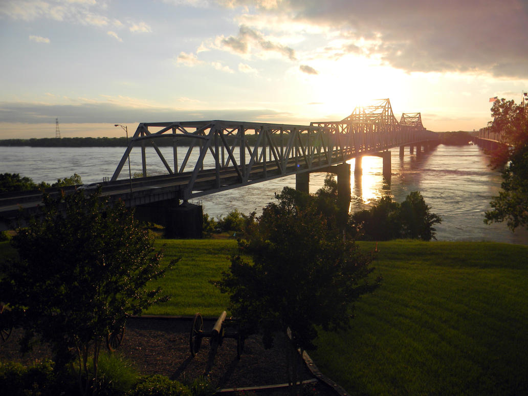 Mississippi River Sunset by stardust4ever
