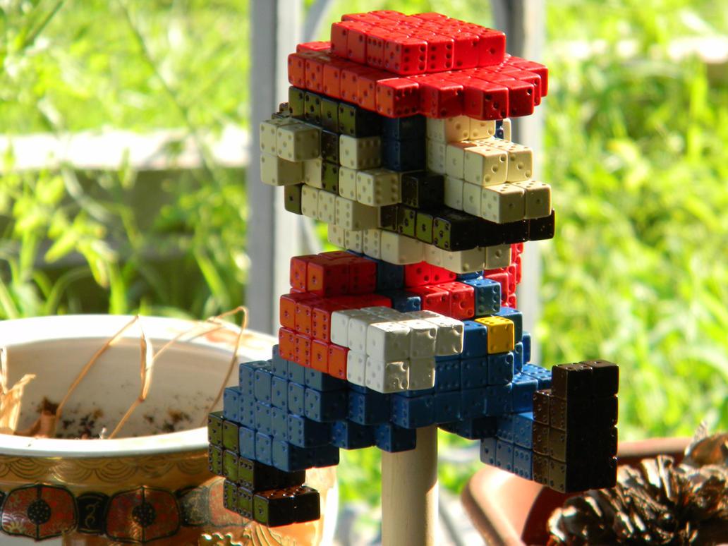 3D Super Mario Sprite (Dice) by stardust4ever