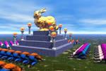 Golden Bunny Shrine