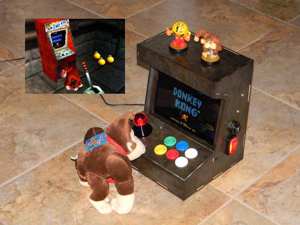 Raspberry Pi Arcade: DK playing DK by stardust4ever