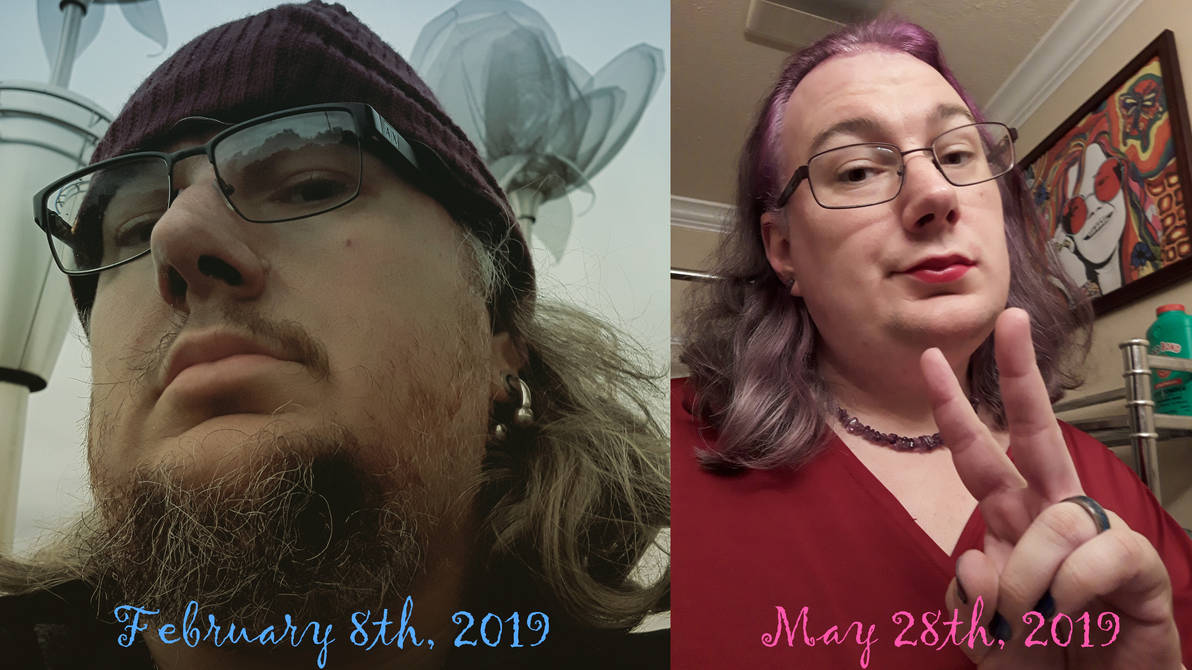 Four months on female hormones, so far so good... by Kosmic-Stardust