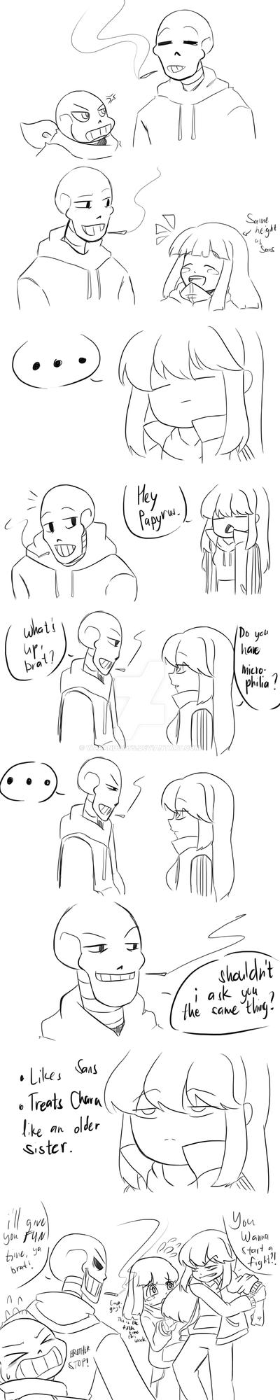 Mortal enemies yet same tastes by WarandCats