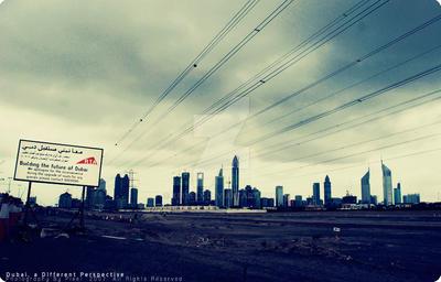 Dubai, a Different Perspective by xPixelx
