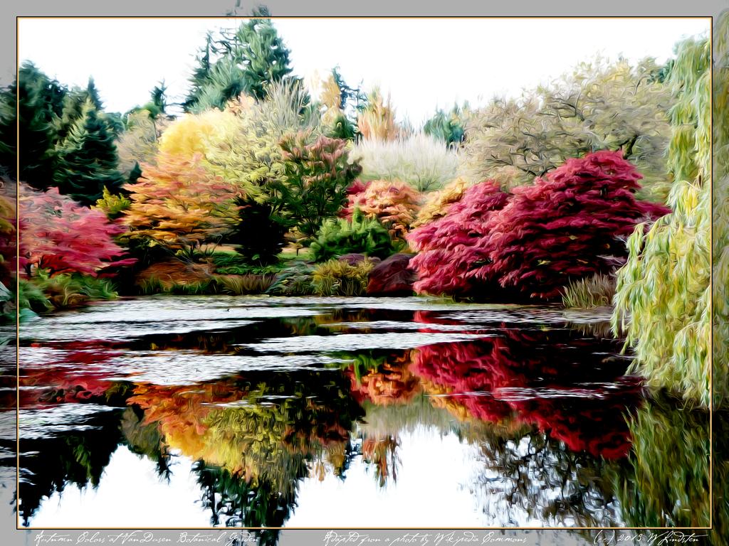 Autumn Colours At VanDusen Botanical Garden By Wlindsten ...