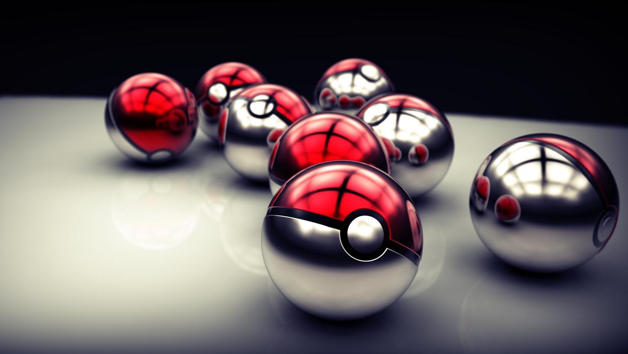 Pokeballs by DarkestSaiko
