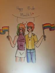 Pride Couple: Indigo x Perseus by ghastlywingz