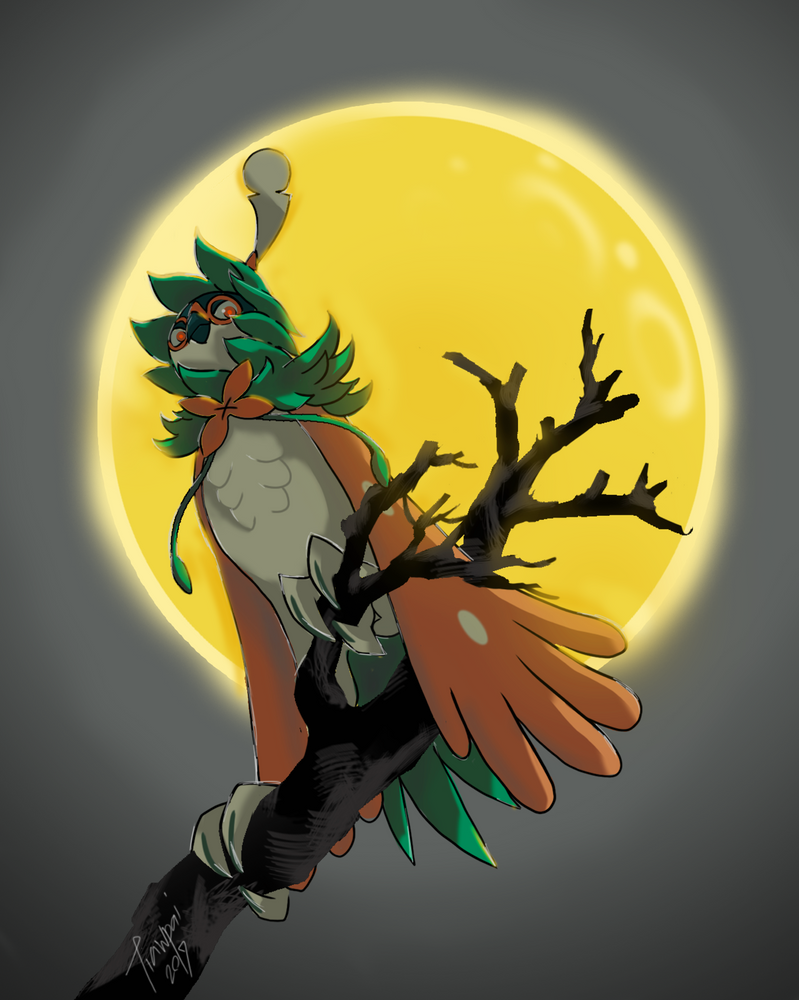 World Of (New) Nintendo (3DS XL) Decidueye_by_tiawkun-daunbpj