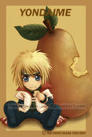 Chibi Fruit Ninja-Yondaime by Red-Priest-Usada